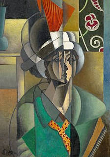 painting by Jean Metzinger