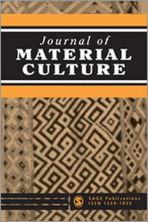 Journal of Material Culture - Image: Journal of Material Culture
