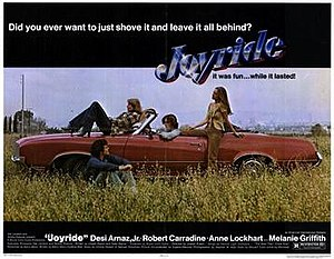 Joyride (1977 film) - Movie Poster