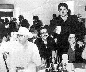 Juan Nepomuceno Guerra - Nepomuceno Guerra pictured on far left
