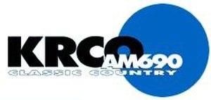 KRCO - Image: KRCO