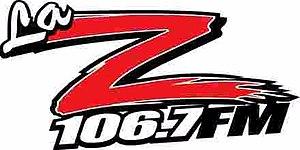 KTUZ-FM - Image: KTUZ La Z106.7 logo