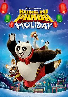 Kung Fu Panda Holiday DVD cover