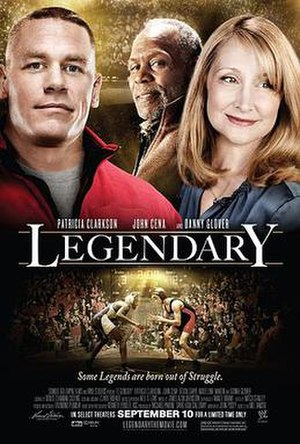 Legendary (film) - Theatrical release poster
