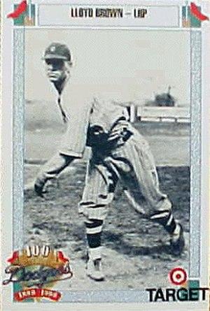 Lloyd Brown (baseball) - Image: Lloyd Brown