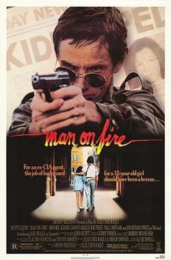 Man On Fire Movie Poster 1987 Jpg