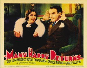 Many Happy Returns (1934 film) - Image: Many Happy Returns 1934