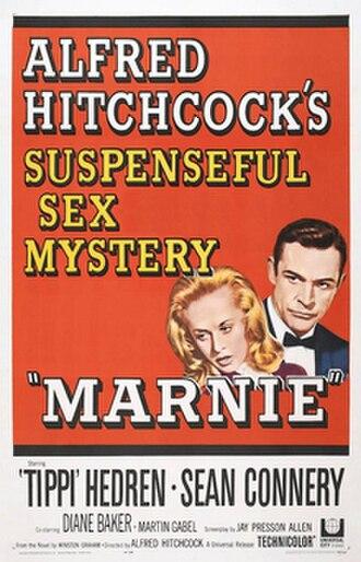 Marnie (film) - Original film poster