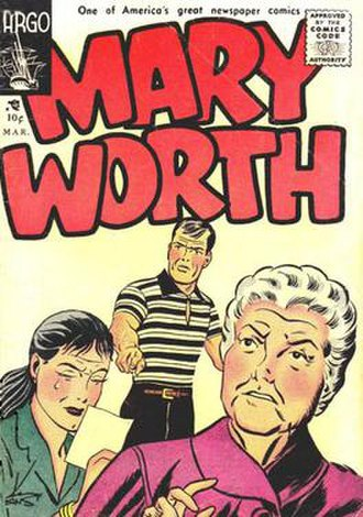 Mary Worth - Ken Ernst's Mary Worth (March 1956)