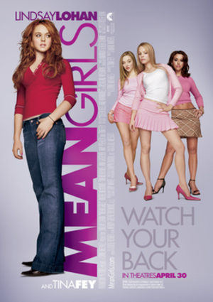 Mean Girls - Image: Mean Girls film poster