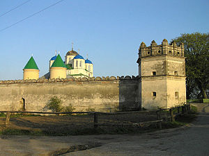Volhynia - Mezhyrich Abbey in Ostroh was endowed by the Ostrogski princes in the 15th century.