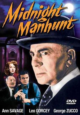 Midnight Manhunt - DVD cover