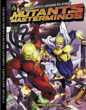 Mutants & Masterminds - Image: Mn M Cover