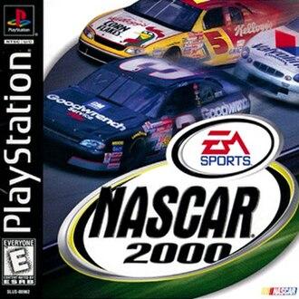 NASCAR 2000 - Image: NASCAR 2000 Play Station Coverart