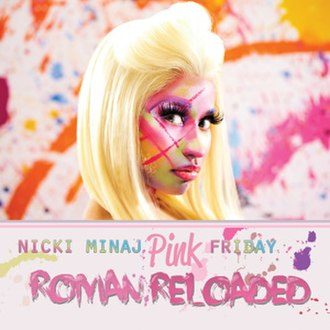 Pink Friday: Roman Reloaded - Image: Nicki Minaj Pink Friday Roman Reloaded cover