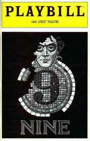 Nine (musical) - Original Playbill