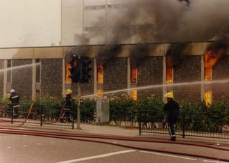Norfolk Fire and Rescue Service - Norwich library fire (1994)