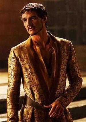 Oberyn Martell - Pedro Pascal as Oberyn Martell