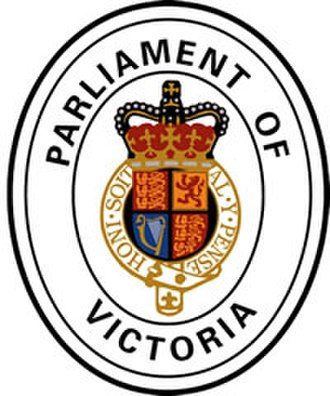 Parliament of Victoria - Image: Parliament of Victoria emblem