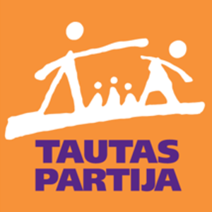 People's Party (Latvia) - Image: People's Party (Latvia) logo