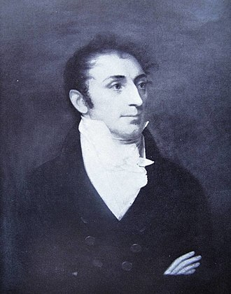 Jay Estate - Portrait of Peter Augustus Jay and anti-slavery advocate by John Wesley Jarvis