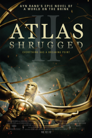 Atlas Shrugged: Part II - Theatrical release poster