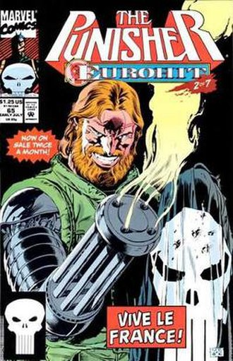 Rapido (comics) - Image: Rapido Punisher