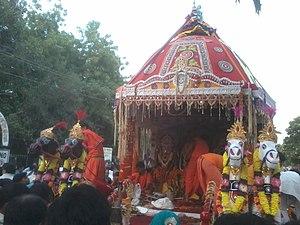 Jagannath Temple, Delhi - Rath Yatra 2012