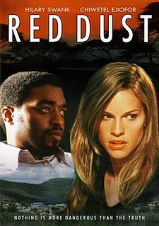 <i>Red Dust</i> (2004 film) 2004 British film