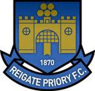 Reigate Priory F.C. - Image: Reigate Priory F.C. logo
