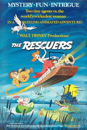 The Rescuers - Original theatrical release poster