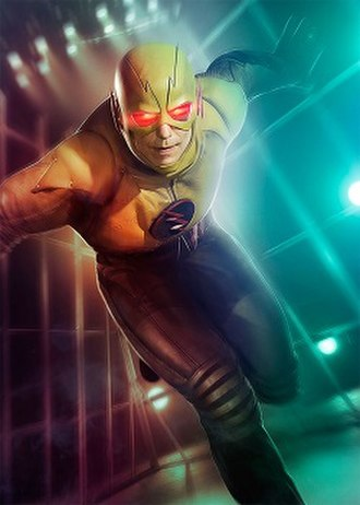 Eobard Thawne - Tom Cavanagh as Eobard Thawne / Reverse-Flash in The CW's Superhero Fight Club promotional video.