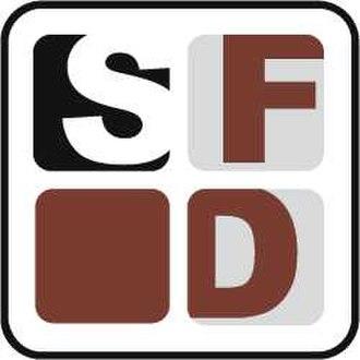 Afro-Germans - Logo of SFD - Schwarze Filmschaffende in Deutschland