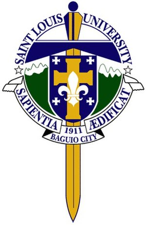 Saint Louis University (Philippines) - Image: Saint Louis University (Baguio) logo