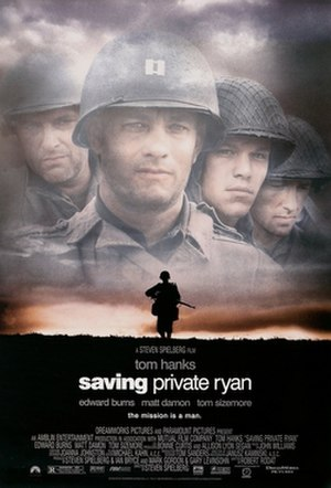 Saving Private Ryan - Theatrical release poster