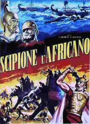 Scipio Africanus: The Defeat of Hannibal - Theatrical poster.