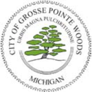 Grosse Pointe Woods, Michigan - Image: Seal of Grosse Pointe Woods, Michigan
