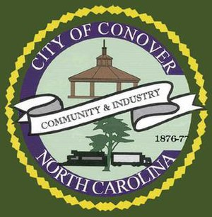Conover, North Carolina - Image: Seal of the City of Conover, North Carolina
