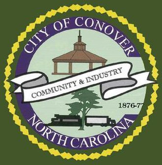 Conover, North Carolina - Image: Seal of the City of Conover, North Carolina