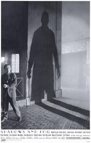 Shadows and Fog - Theatrical release poster