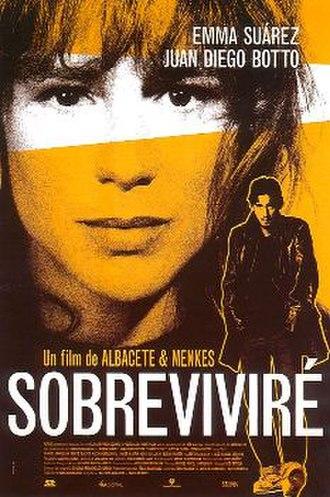 Sobreviviré - Spanish film poster by Oscar Mariné