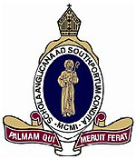 The Southport School crest. Source: www.tss.qld.edu.au (TSS website)