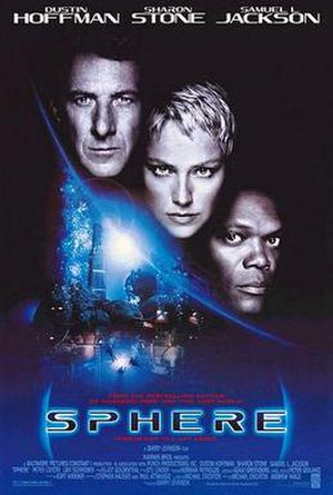 Sphere (1998 film) - Theatrical release poster