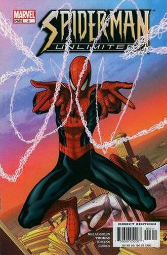 Spider-Man Unlimited (comics) - Image: Spider Man Unlimited V3