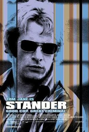 Stander (film) - Theatrical poster