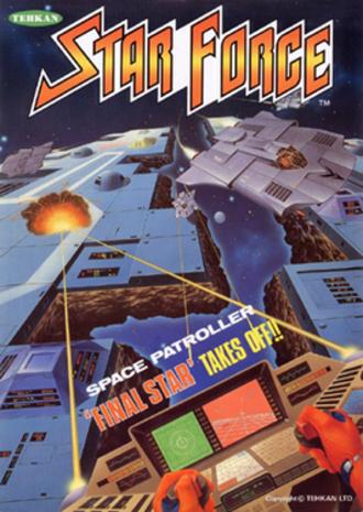 Star Force - European arcade flyer of Star Force.