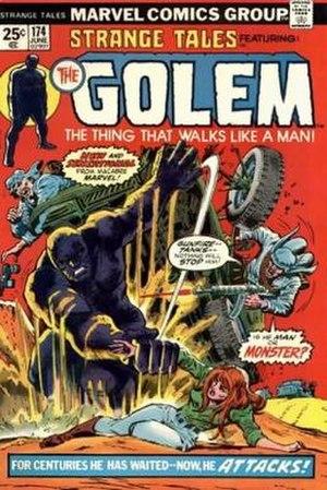 Golem (comics) - Image: Strange Tales 174