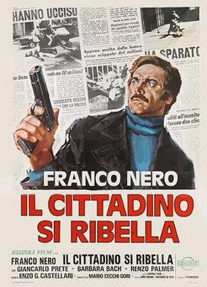 Street Law (film) - Italian film poster by Renato Casaro