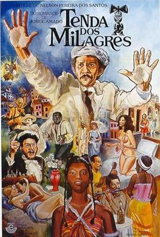Tenda dos Milagres (film) - Theatrical release poster