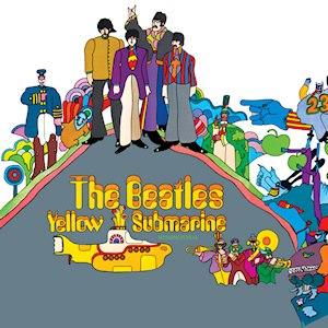 Yellow Submarine (album) - Image: The Beatles Yellow Submarinealbumcover